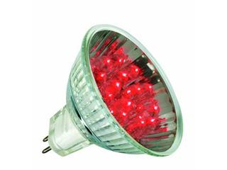 xŻarówka LED 12V GU5,3 <1W 50000h czerwona Paulmann