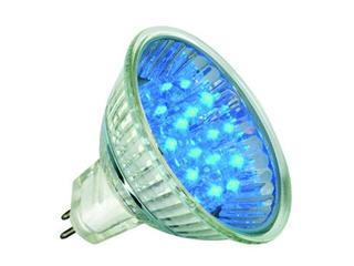 xŻarówka LED 12V GU5,3 <1W 5000h niebieska Paulmann