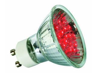 xŻarówka LED 230V GU10 <1W 50000h czerwona Paulmann