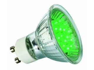 xŻarówka LED 230V GU10 <1W 50000h zielona Paulmann