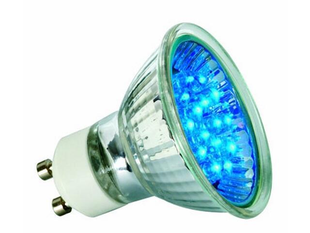 xŻarówka LED 230V GU10 <1W 50000h niebieska Paulmann