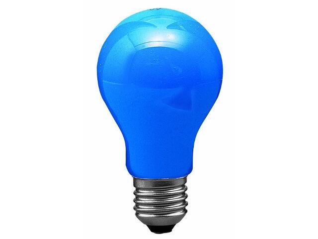 xŻarówka dekoracyjna niebieska, E27, 25W Paulmann