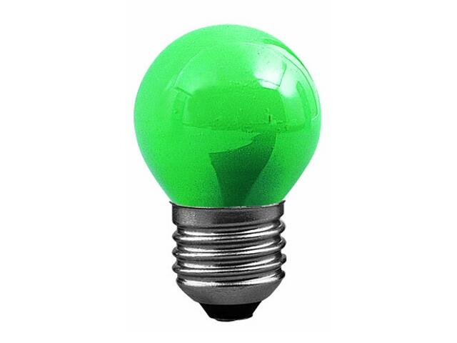xŻarówka dekoracyjna kulista, zielona, E27, fi 45mm, 25W Paulmann