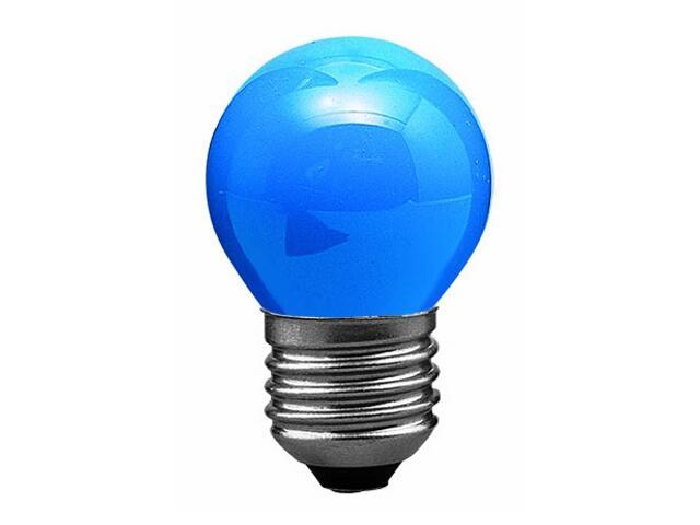 xŻarówka dekoracyjna kulista, niebieska, E27, fi 45mm, 25W Paulmann