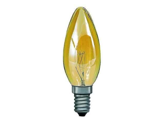 xŻarówka dekoracyjna świecowa, złota E14, fi 35mm, 25W Paulmann
