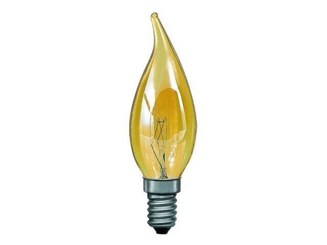 xŻarówka dekoracyjna świecowa Windstoß, E14, fi 35mm, 40W złota Paulmann