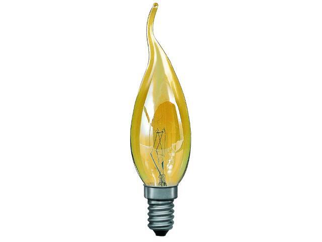 xŻarówka dekoracyjna świecowa Cosylight, E14, fi 35mm, 40W złota Paulmann