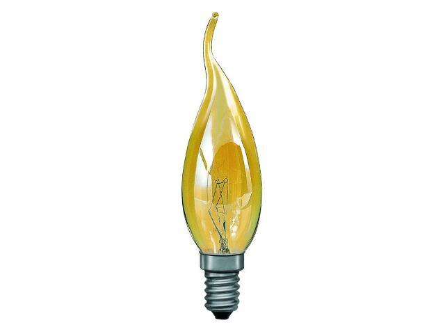 xŻarówka dekoracyjna świecowa Cosylight, E14, fi 35mm, 60W złota Paulmann