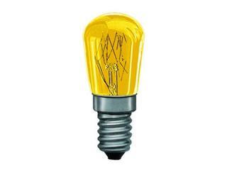 xŻarówka dekoracyjna gruszkowa, żółta, E14, fi 25mm, 15W Paulmann