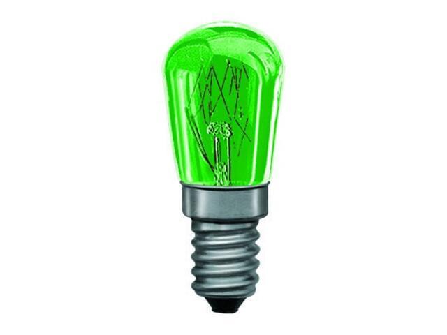 xŻarówka dekoracyjna gruszkowa, zielona, E14, fi 25mm, 15W Paulmann