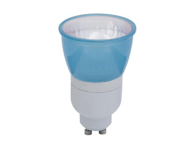 xŚwietlówka energooszczędna 7W GU10 niebieska Paulmann