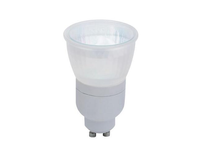 xŚwietlówka energooszczędna 7W GU10 satynowa Paulmann