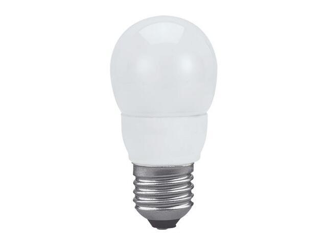 xŚwietlówka energooszczędna kulka 7W E27 ciepła barwa Paulmann