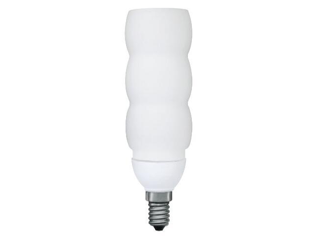 xŚwietlówka energooszczędna Wobble 11W E14 opal Paulmann