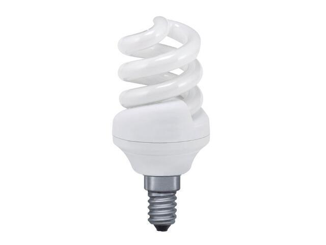 xŚwietlówka energooszczędna spirala 11W E14 ciepła barwa Paulmann