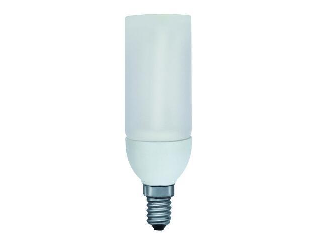 xŚwietlówka energooszczędna DecoPipe cylinder 5W E14/230V opal Paulmann