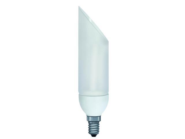 xŚwietlówka energooszczędna DecoPipe ukośna 5W E14/230V opal Paulmann