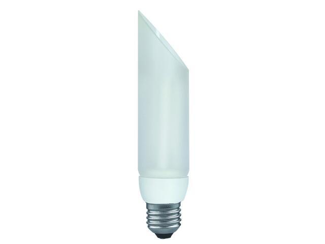 xŚwietlówka energooszczędna DecoPipe ukośna 7W E27/230V opal Paulmann