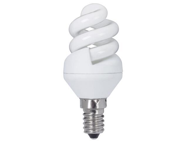 xŚwietlówka energooszczędna spirala 5W E14 extra ciepła barwa Paulmann