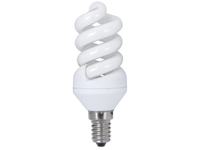 xŚwietlówka energooszczędna spirala 9W E14 extra ciepła barwa Paulmann