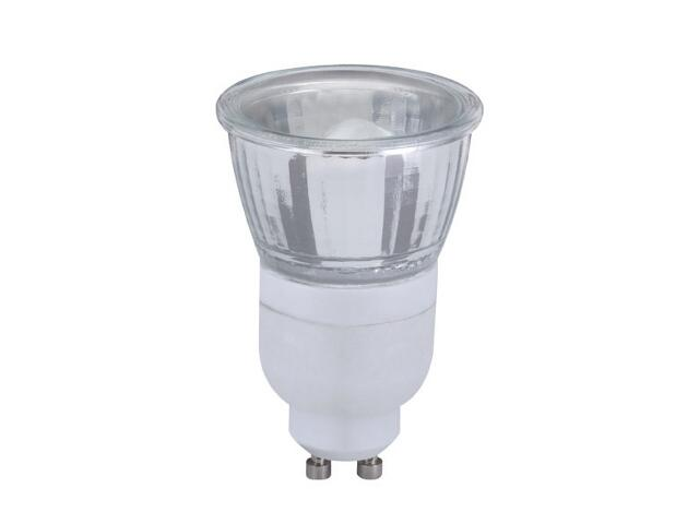 xŚwietlówka energooszczędna 7W GU10 srebrna Paulmann