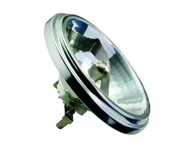 xŻarówka halogenowa QR111 srebrna, G53, 75W Paulmann