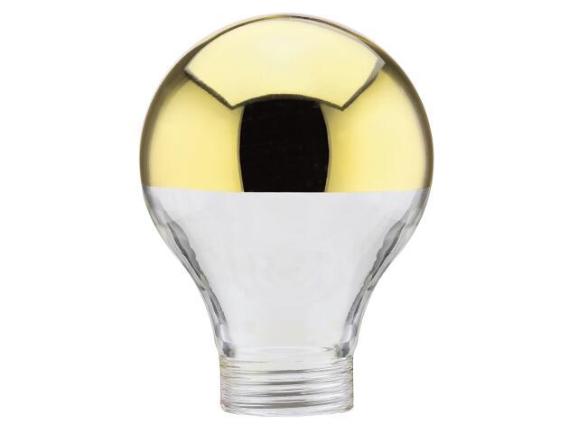 xŻarówka halogenowa klosz AGL lustro złote Paulmann