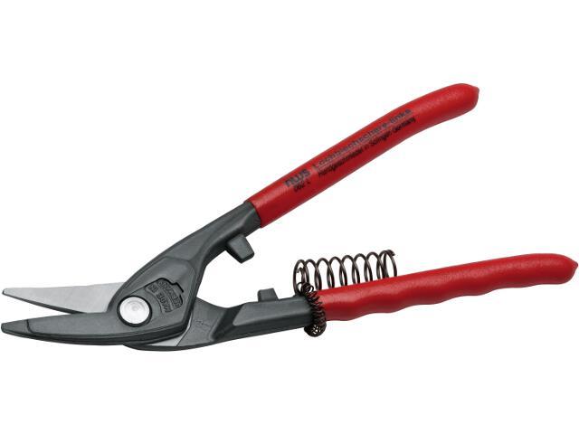 Nożyce budowlane do blachy lewe duże łuki NW062L-12-250 NWS