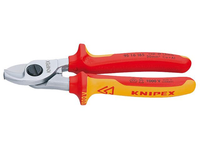 Nożyce do kabli 165mm 1000V VDE 95 16 165 Knipex