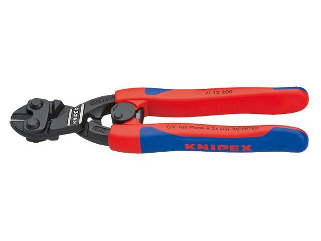 Nożyce budowlane do prętów tnące CoBolt 200mm DWK 71 12 200 Knipex