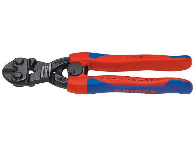 Nożyce budowlane do prętów tnące CoBolt 200mm DWK 71 32 200 Knipex