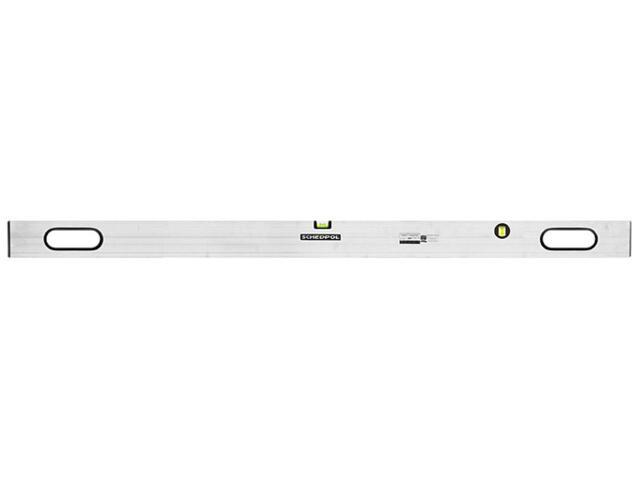 Łata murarska aluminiowa z uchwytami i wskaźnikiem pion/poziom 150cm Sched-Pol