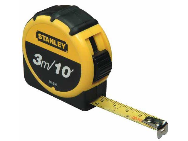 Miara zwijana Tylon 3m/10 ft x 12,7mm obudowa z tworzywa 0-30-686 Stanley