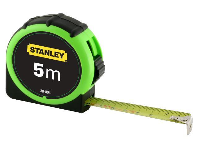 Miara zwijana High Visibility 5m x 19mm 0-30-804 Stanley