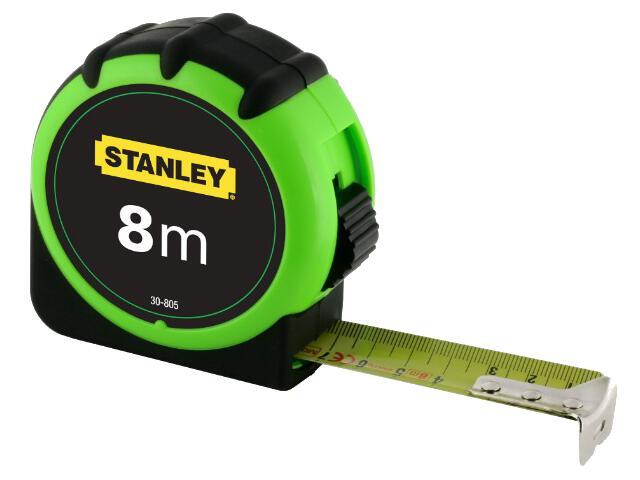 Miara zwijana High Visibility 8m x 25mm 0-30-805 Stanley