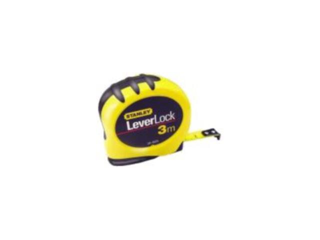 Miara zwijana stalowa LeverLock 3m x 12,7mm obudowa bi-materiałowa 0-30-809 Stanley
