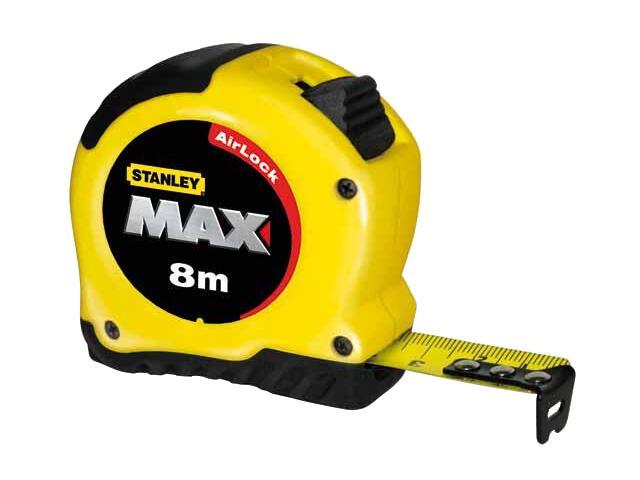 Miara zwijana miara max 8m x 28mm + magnes 0-33-959 Stanley