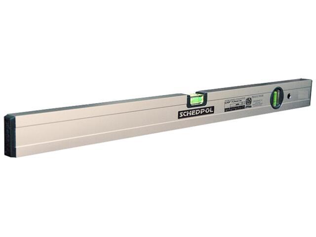Poziomnica anodowana ze wskaźnikiem pion/poziom 100cm Sched-Pol