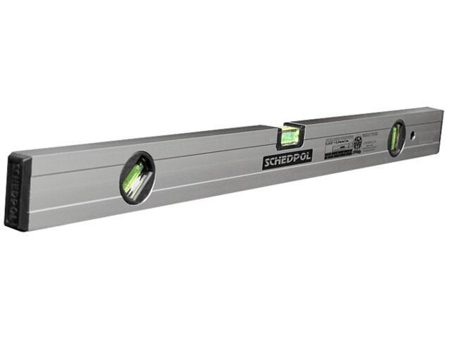 Poziomnica anodowana z magnesem ze wskaźnikiem pion/poziom/45° 200cm Sched-Pol