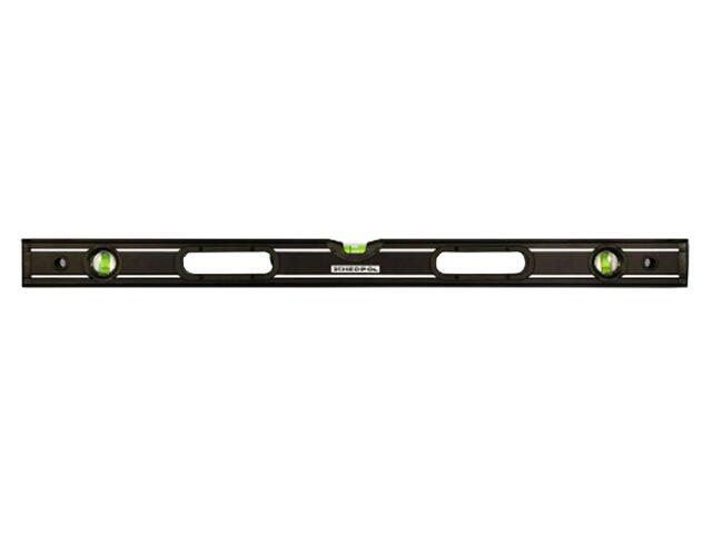 Poziomnica BLACK ze wskaźnikami pion/poziom/45° z uchwytami i magnesami 120cm Sched-Pol