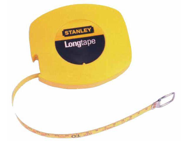 Taśma miernicza stalowa długa 10m x 9,5mm (obudowa zamknięta) II kl.dokł.0-34-102 Stanley