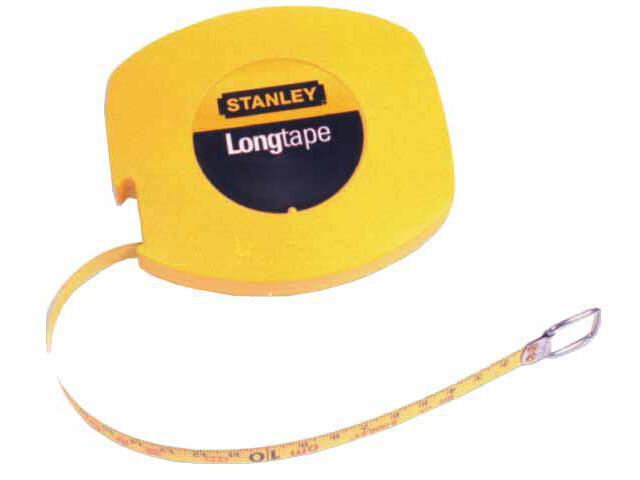 Taśma miernicza stalowa długa 30m x 9,5mm (obudowa zamknięta) II kl.dokł.0-34-108 Stanley