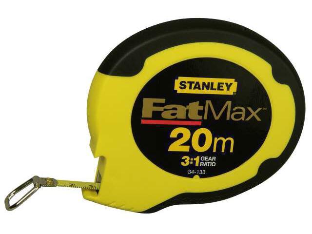 Taśma miernicza Fatmax 20m x 10mm ze stali nierdzewnej II kl.dokł. 0-34-133 Stanley