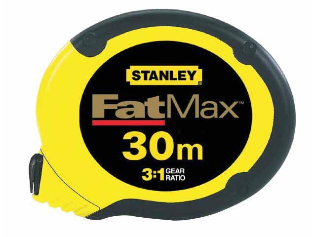 Taśma miernicza Fatmax 30m x 10mm ze stali nierdzewnej II kl.dokł. 0-34-134 Stanley