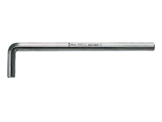 Klucz sześciokątny SW 2,5mm HEX-PLUS 950 L Wera