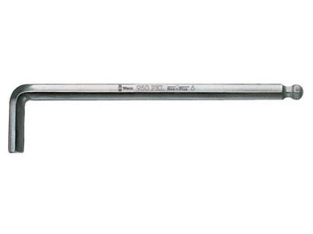 Klucz sześciokątny SW 3,0mm HEX-PLUS 950 PKL Wera