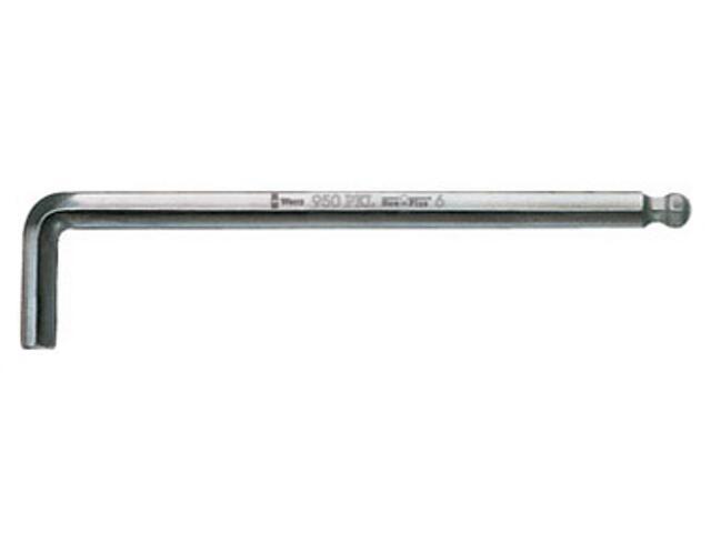 Klucz sześciokątny SW 12,0mm HEX-PLUS 950 PKL Wera