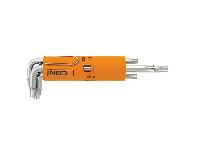 Klucz TORX zestaw 8 końcówek Neo