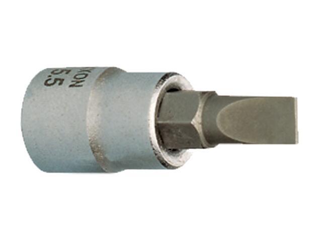 """Nasadka 1/2"""" z końcówką wkrętaka płaską 10mm 55mm 23464 PROXXON"""