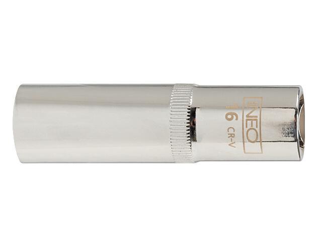 "Nasadka 1/4"" sześciokątna długa 12mm 08-245 Neo"